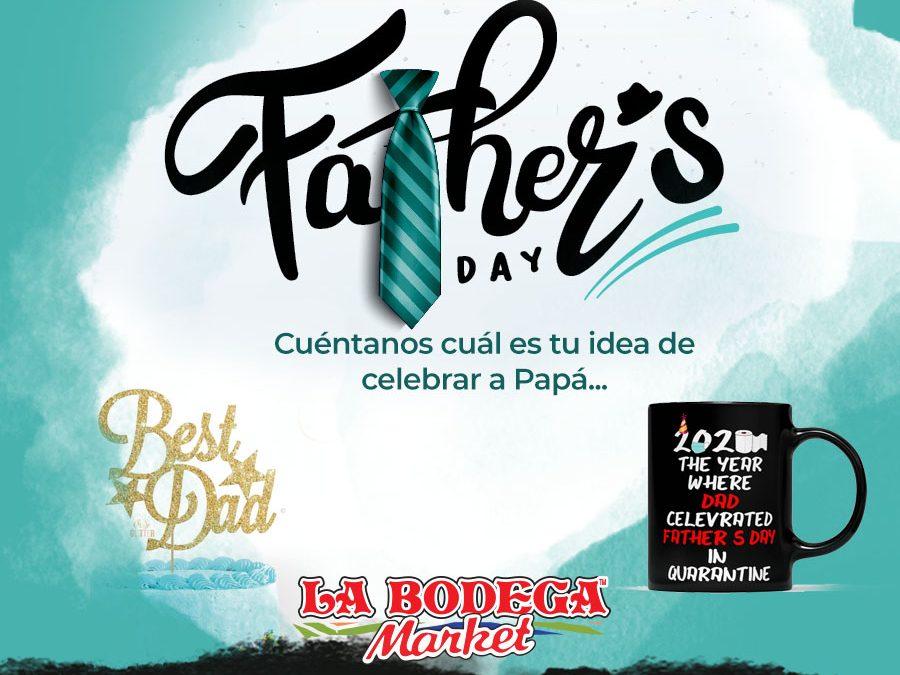 Ideas para celebrar y para regalar el día del padre en cuarentena.
